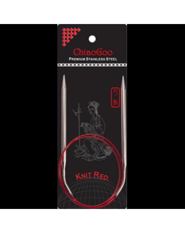 Круговые спицы Premium SS Red 80 см