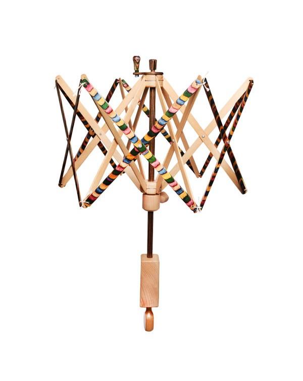 Зонтик для перемотки пасм пряжи