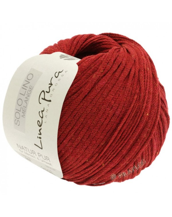 116-красный меланжевый
